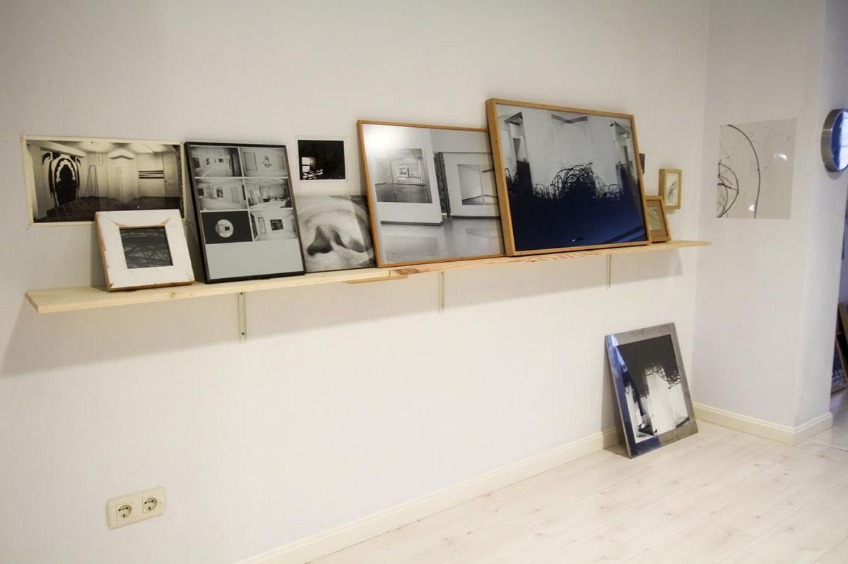 """Pared ZAS02: """"Prueba de estado"""", exposición retrospectiva de Ibon Sáenz deOlazagoitia."""