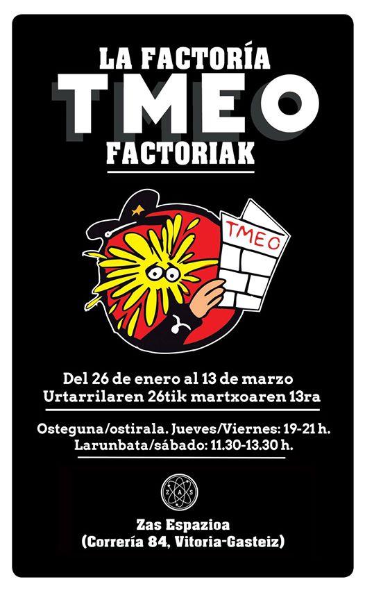 La factoría TMEO: treinta años de humor gráfico con Kini, Mauro yLarri.