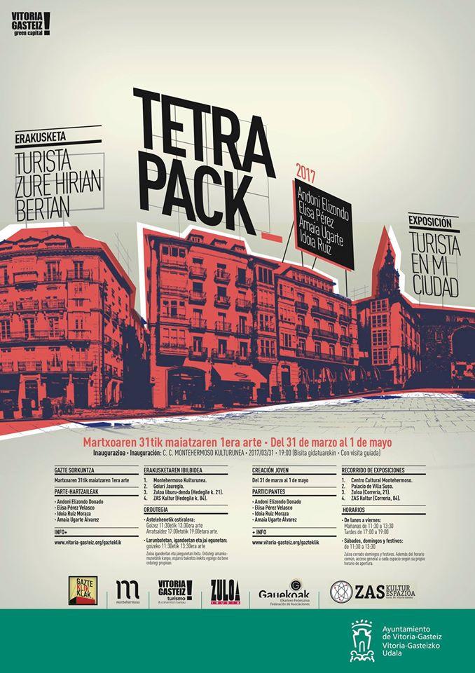 Tetrapack 2017: Turista zure hirian bertan | Turista en mi ciudad. Erakusketa |Exposición.