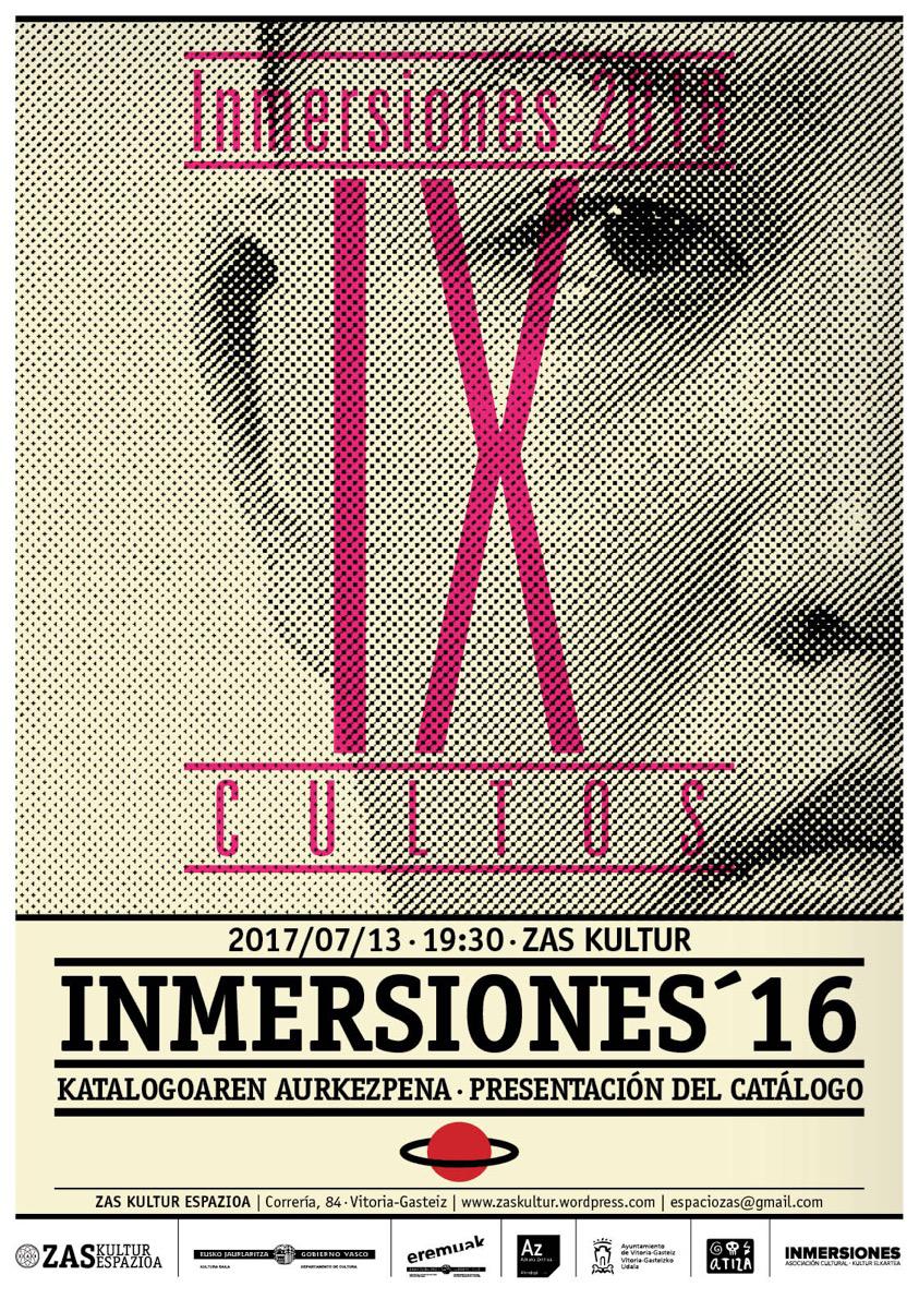 Presentación CATÁLOGO INMERSIONES2016