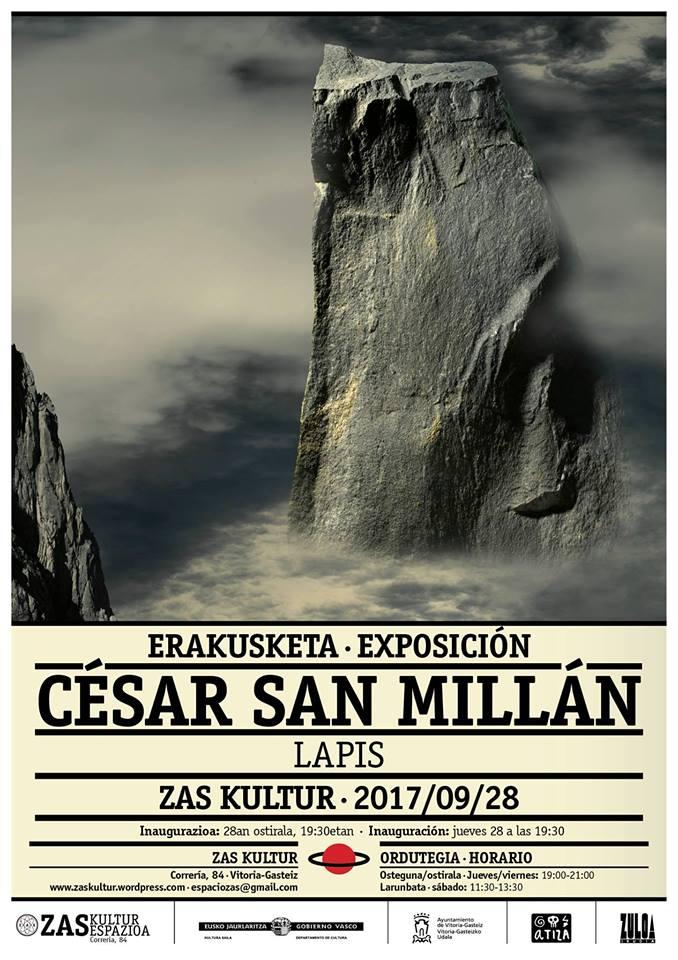 """Exposición """"Lapis"""" de César SanMillán"""