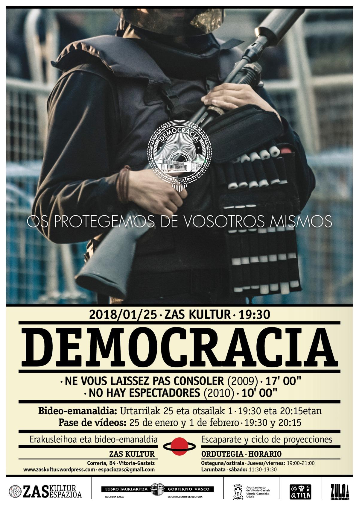 DEMOCRACIA- Escaparate yproyecciones