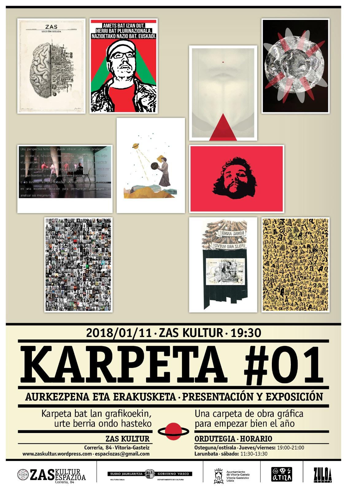Presentación y exposición deKarpeta#01